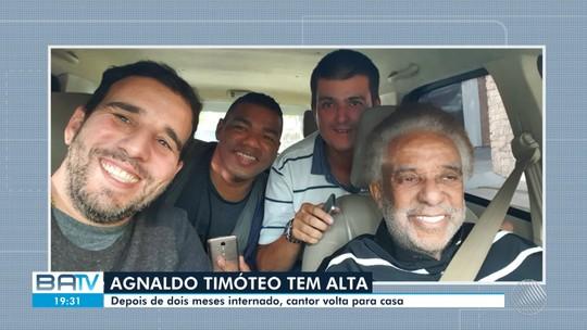 Cantor Agnaldo Timóteo tem alta do hospital nesta sexta-feira, 19, em São Paulo