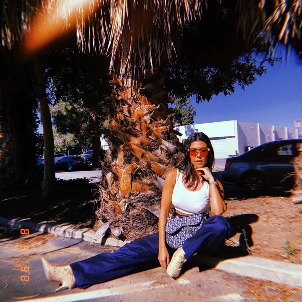 Kourtney Kardashian (Foto: Instagram/Reprodução)