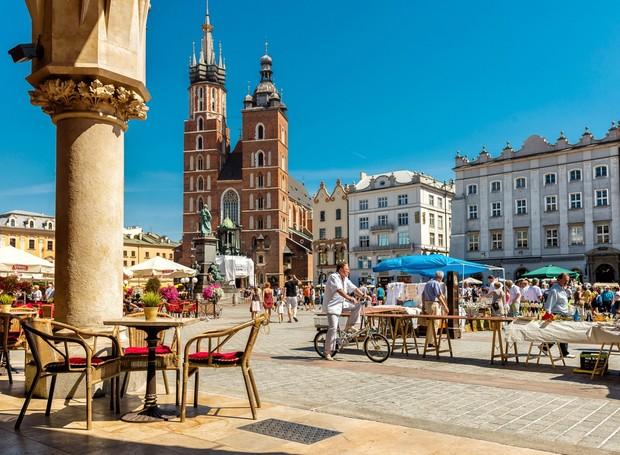 A Rynek Glówny é uma das praças mais bonitas da Europa (Foto: My Wonder Planet/ Reprodução)