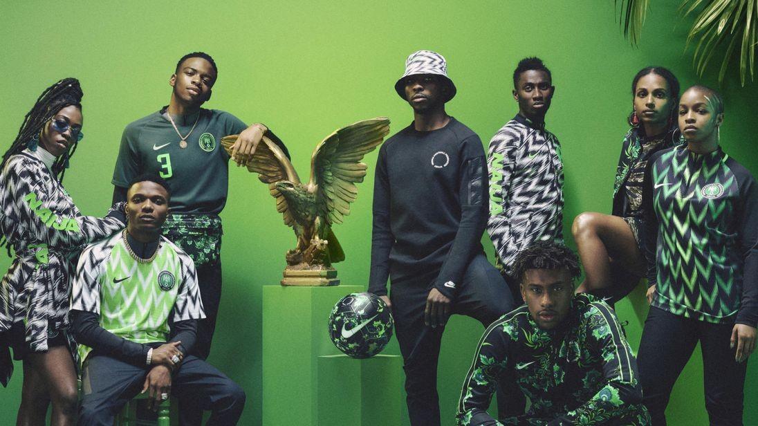 O kit da Nigéria para a Copa do Mundo. É o mais bonito mesmo? (Foto: Divulgação)