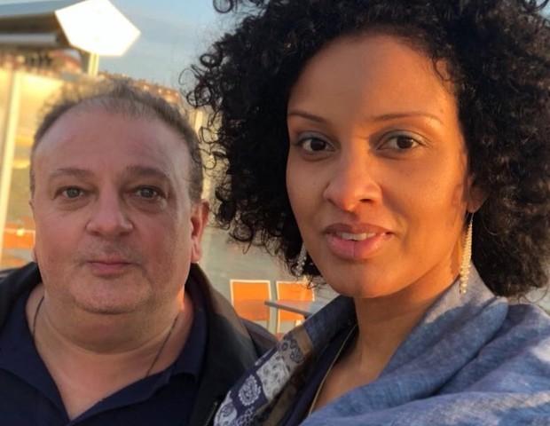 Chef Erick Jacquin e a mulher, Rosângela (Foto: Reprodução Instagram)