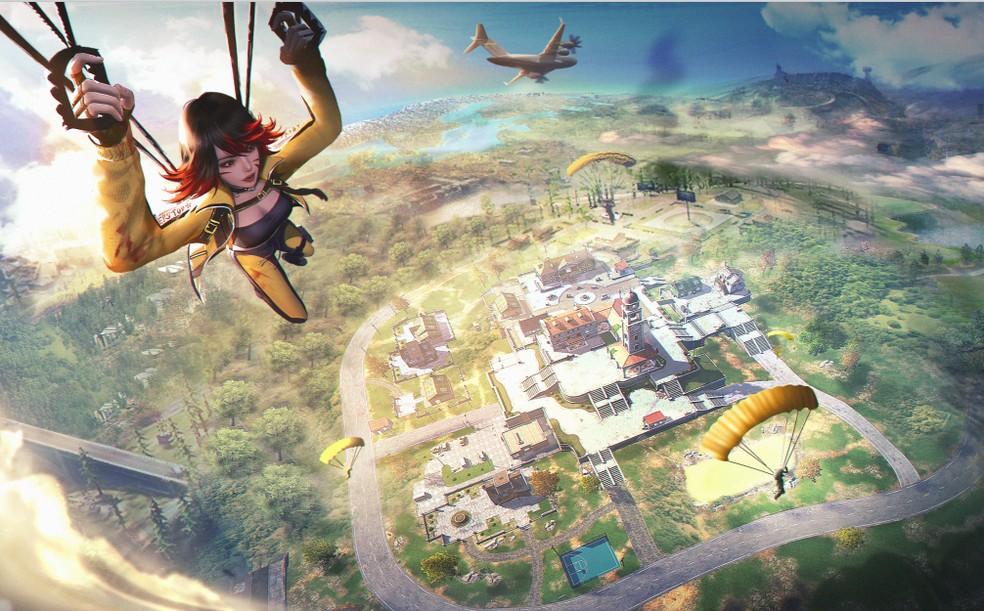 Free Fire Max é a nova versão com gráficos e sons mais realístas do Battle Royale da Garena  — Foto: Reprodução/Garena