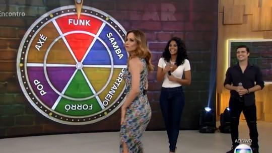 Ana Furtado vai até o chão com funk e bomba na web