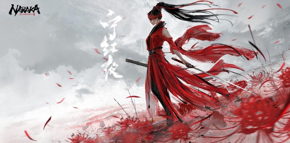 Naraka: Bladepoint é um novo Battle Royale cheio de inspirações mitológicas — Foto: Divulgação/24 Entertainment
