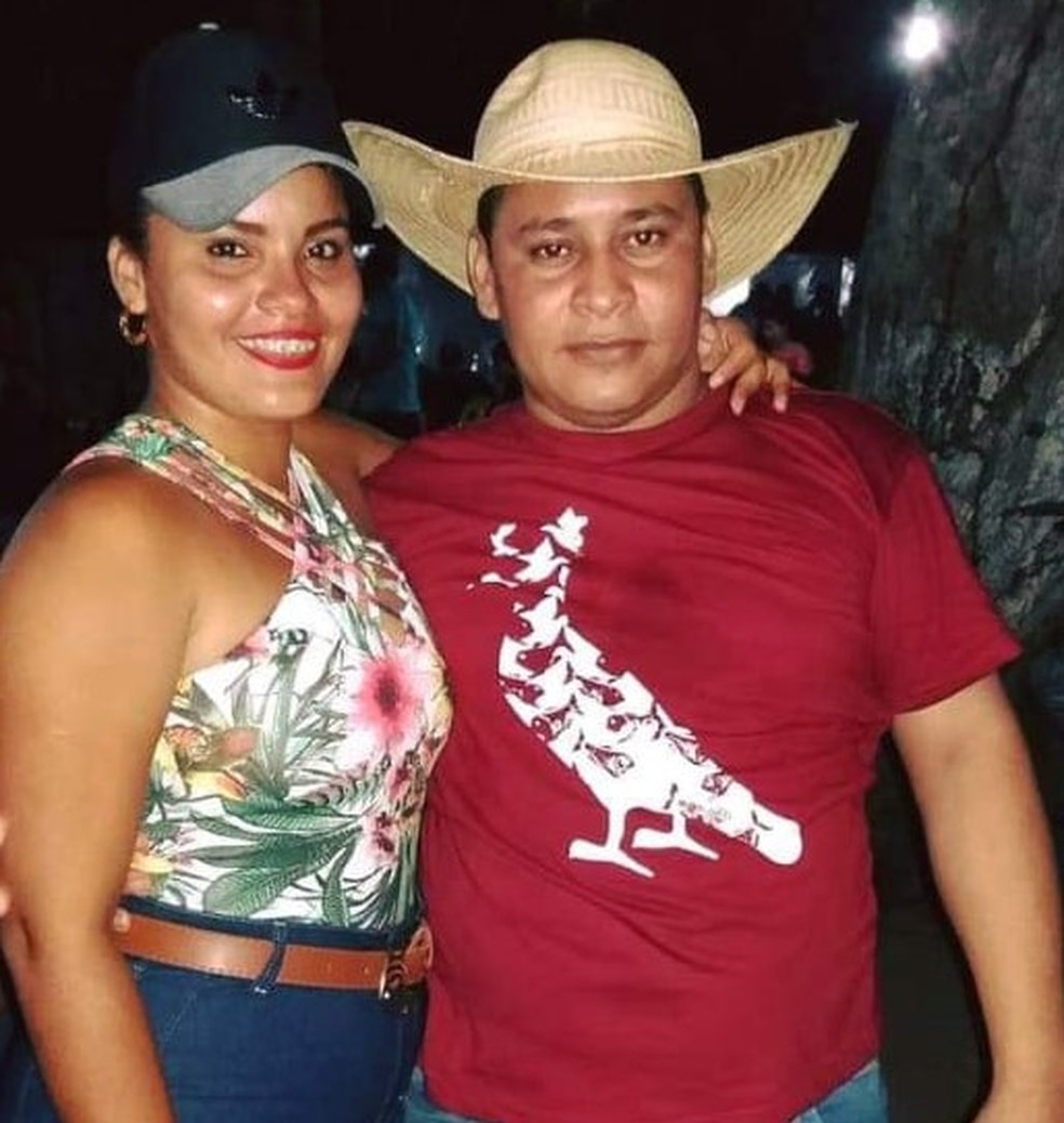 Taynara Cristina e Francisco Linhares estavam juntos há três anos — Foto: Divulgação/Redes Sociais