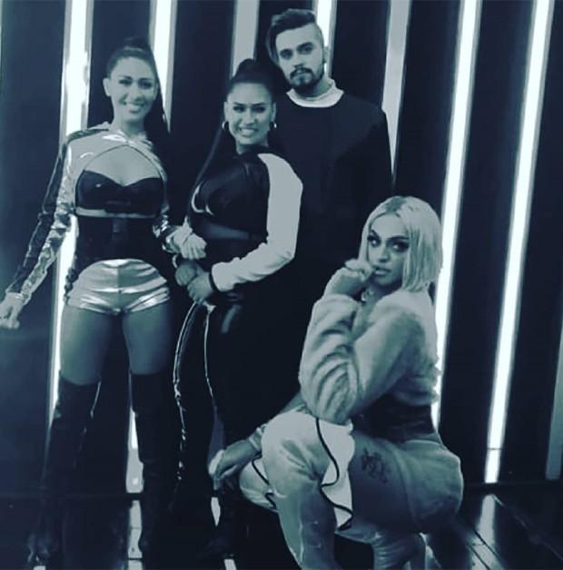 Simone e Simaria, Pabllo Vittar e Luan Santana (Foto: Reprodução/Instagram)