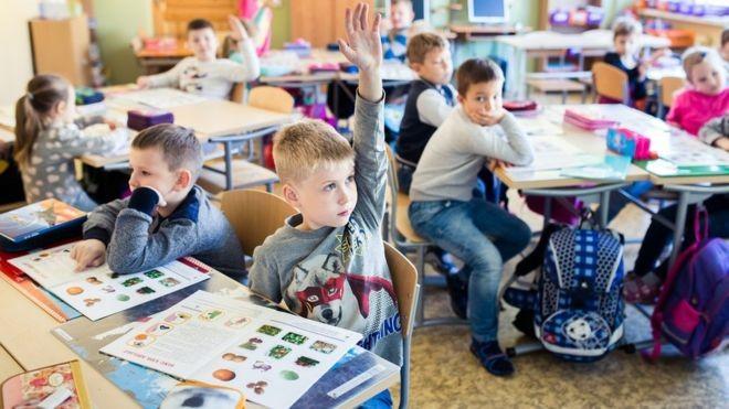 Estônia é o país da Europa com melhor desempenho no Pisa (Foto: Divulgação/Ministério da Educação da Estônia/BBC)