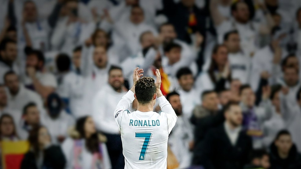 Cristiano Ronaldo se despediu do Real Madrid (Foto: Divulgação/Site do Real Madrid)
