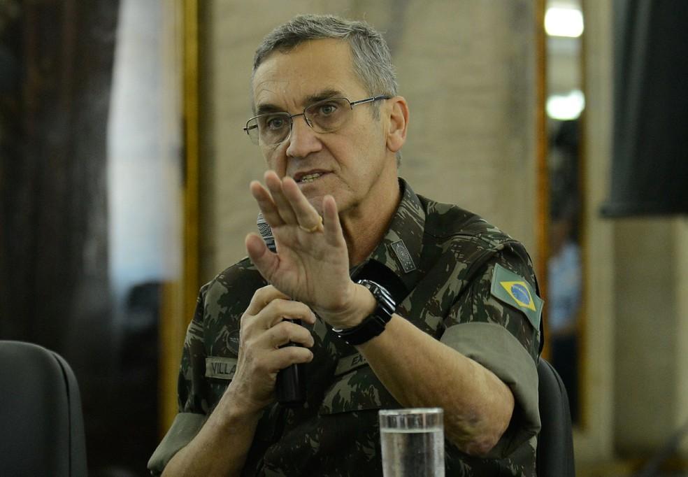 General Eduardo Villas Bôas fala sobre a atuação das Forças Armadas nos Jogos Olímpicos e Paralímpicos Rio 2016 (Foto: Tomaz Silva/Agência Brasil)