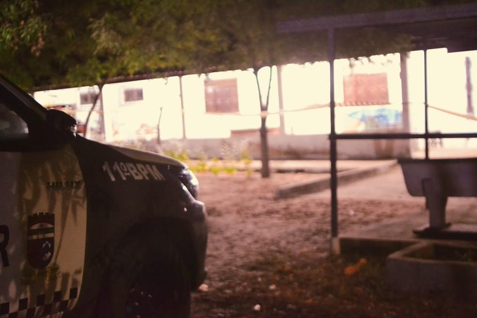 Aposentado morava só em uma granja  — Foto: Acson Freitas/ Inter TV Cabugi