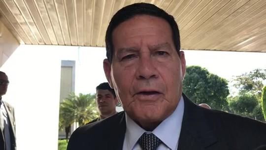 Novos decretos das armas contemplam pauta que elegeu Bolsonaro, diz Mourão