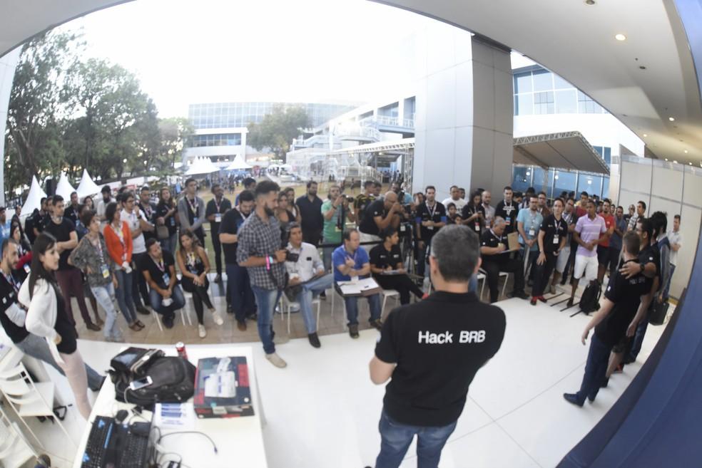 Palestra durante a Campus Party 2017 (Foto: CP/Divulgação)