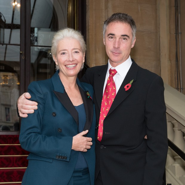 Emma Thompson e marido (Foto: Getty Images)