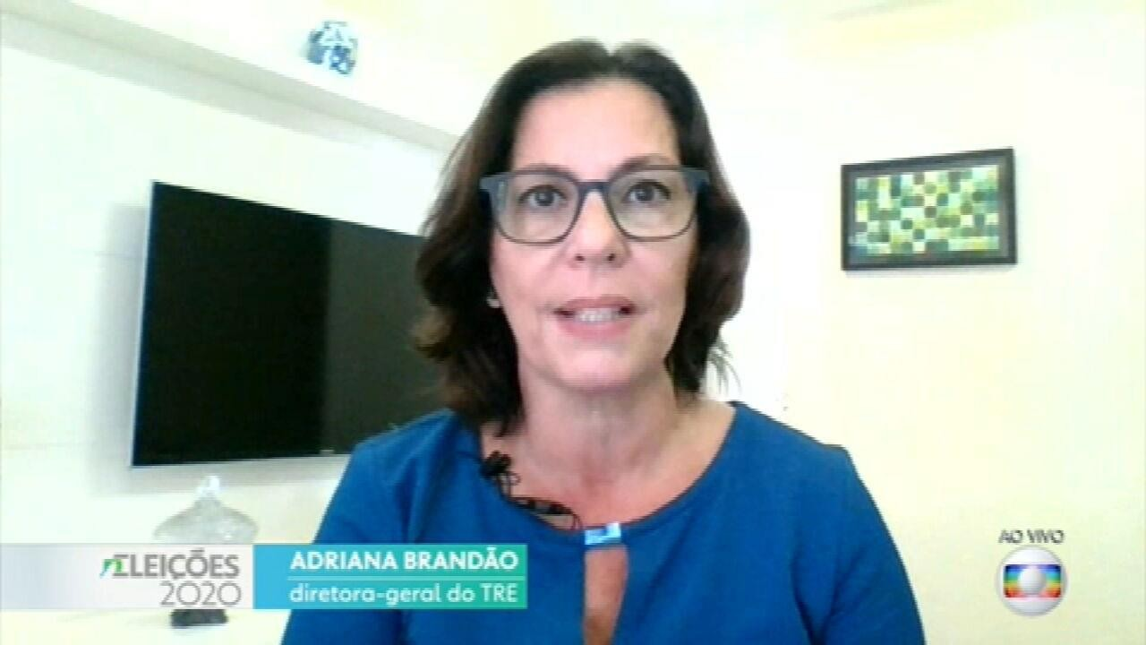 Diretora-geral do TRE faz um balanço do segundo turno das eleições no Rio