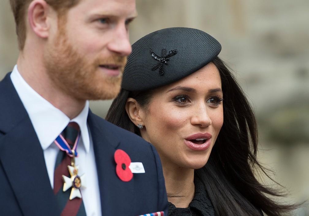 -  A atriz americana Meghan Markle se casará com Prínicipe Harry na capela de St. George, dentro do castelo de Windsor  Foto: Eddie Mulholland/AP