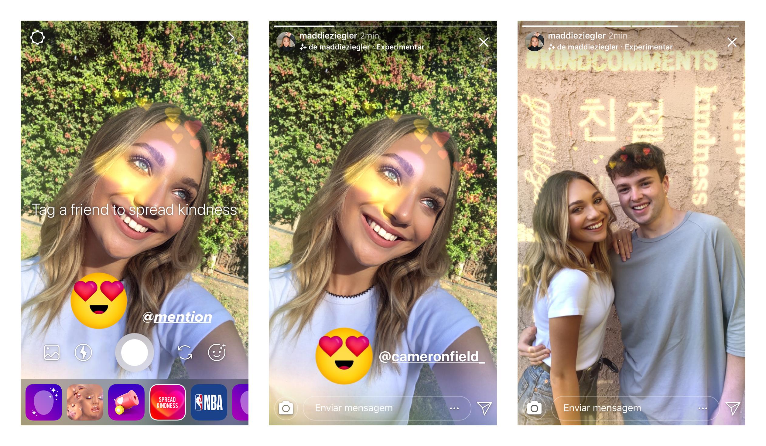 Efeito câmera Instagram  (Foto: Reprodução)