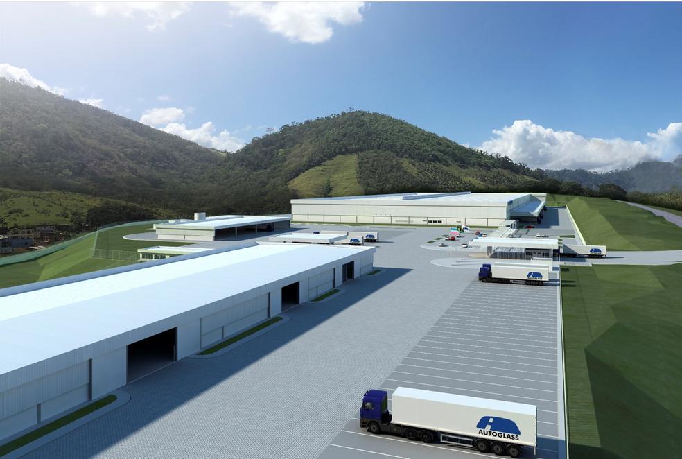 Centro de Distribuição da Autoglass (Foto: Divulgação/ Governo do ES)