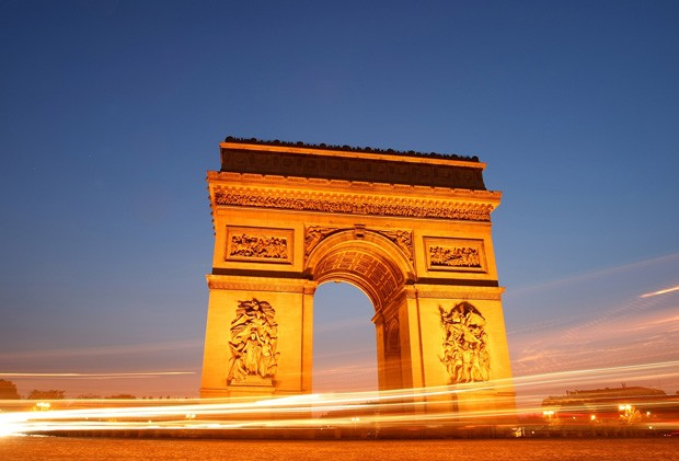 PARIS - JUNE 09: The Arc de Triomphe on June 9, 2008 in Paris, France.  (Photo by Mike Hewitt/Getty Images) (Foto: Getty Images)