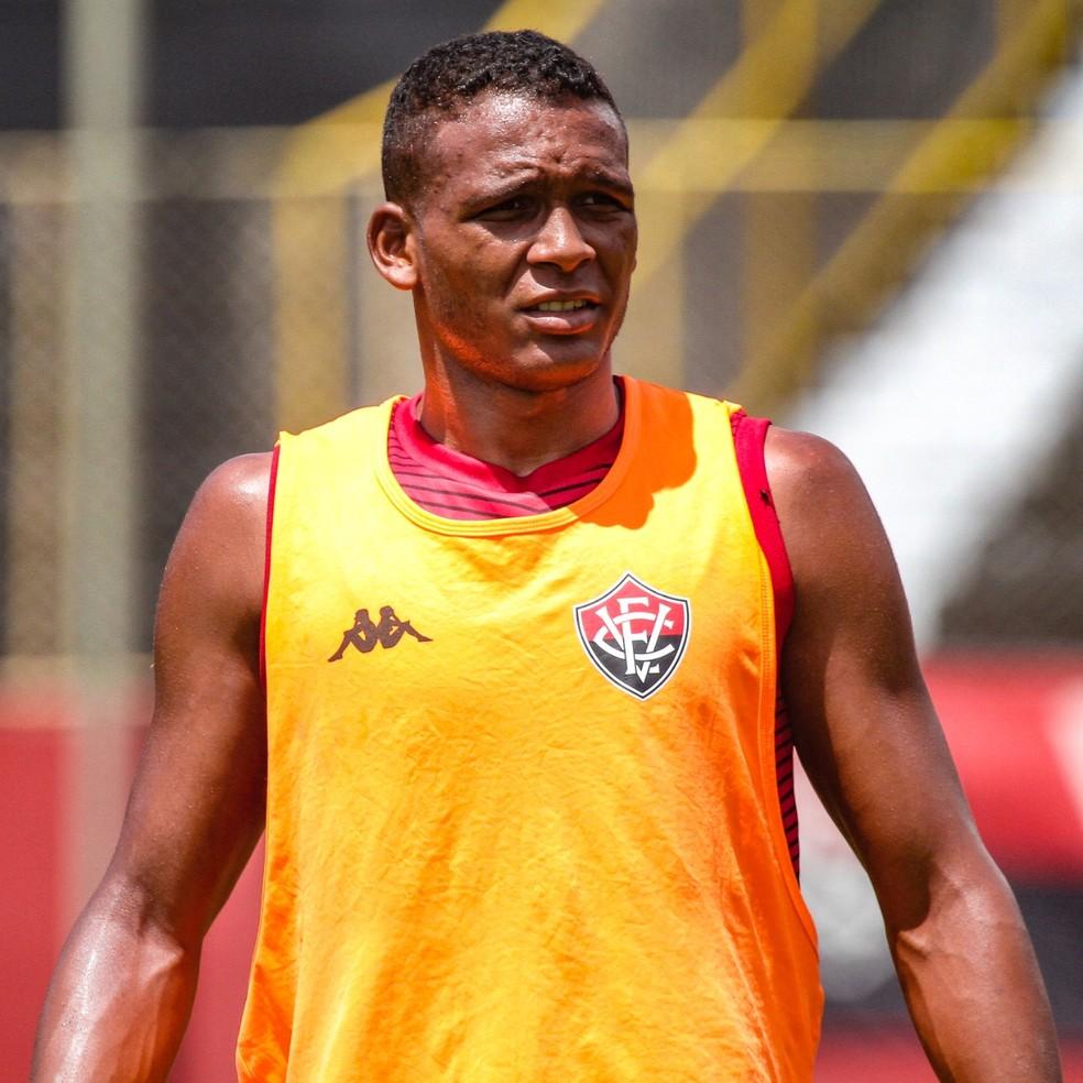 Vitória atuou nos últimos quatro jogos na condição de titular — Foto: Letícia Martins/ E.C. Vitória