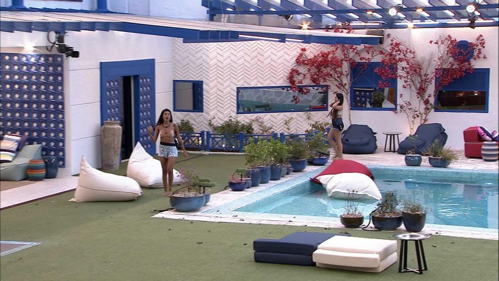 Juliette e Pocah discutem novamente no BBB21 e advogada diz: 'Grita mais, está lindo!' — Foto: Globo
