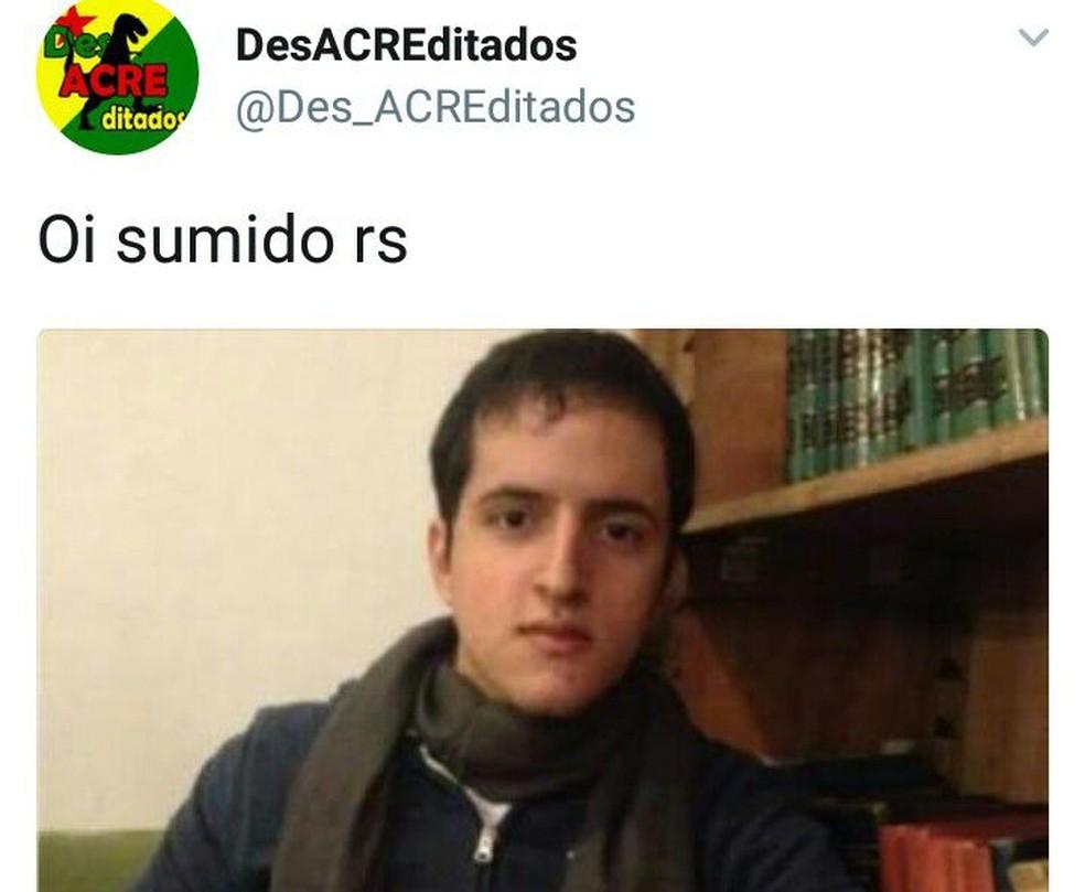Retorno de Bruno Borges vira meme na internet (Foto: Reprodução/Facebook)