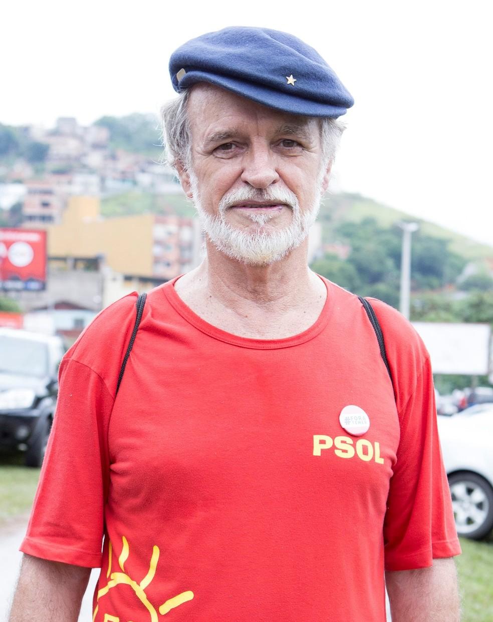 PSOL oficializa a candidatura de Robinson Ayres à Prefeitura de Ipatinga — Foto: Reprodução/Redes Sociais