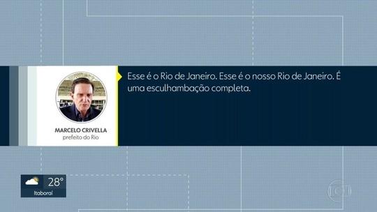 ÁUDIO: Crivella diz que Rio é 'esculhambação completa'