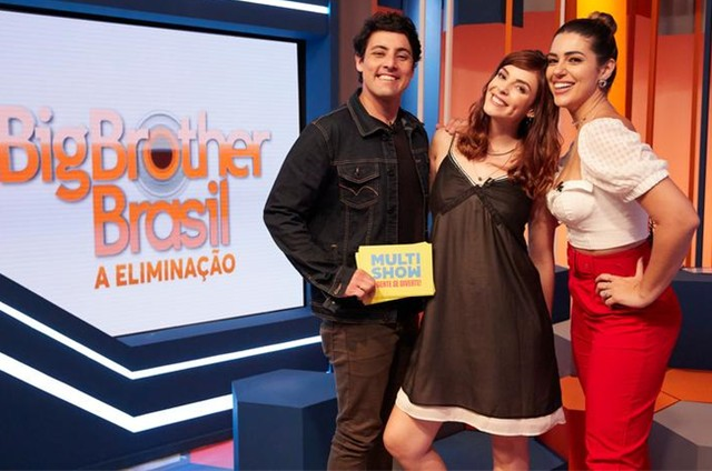 Bruno de Luca, Titi Muller e Vivian Amorim (Foto: Guto Costa)