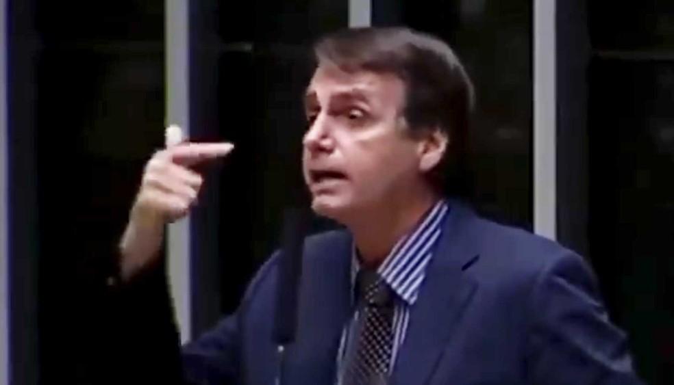 O presidente eleito, Jair Bolsonaro — Foto: Reprodução / TV Câmara