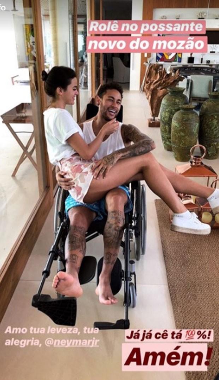 Bruna Marquezine e Neymar (Foto: Reprodução Instagram)