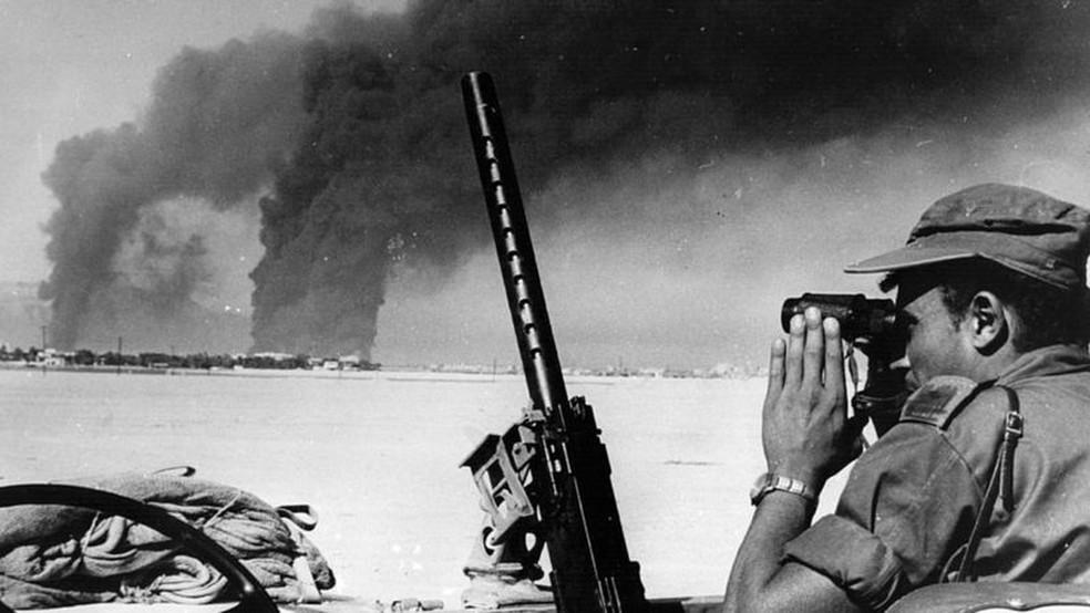 Israel venceu a guerra em apenas seis dias — Foto: Getty Images via BBC
