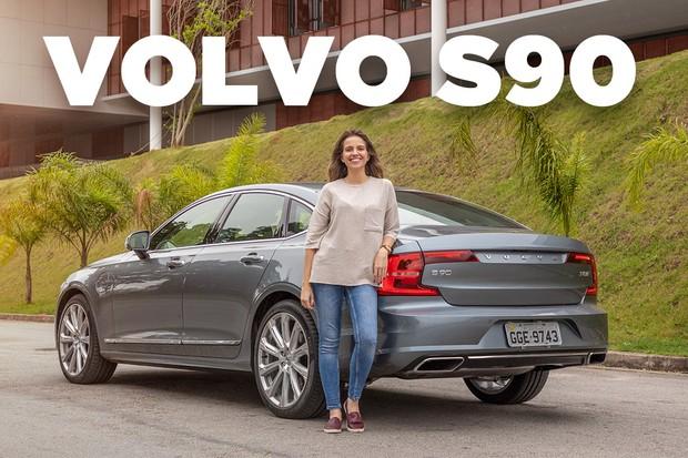 Vídeo: Volvo S90 (Foto: Autoesporte)