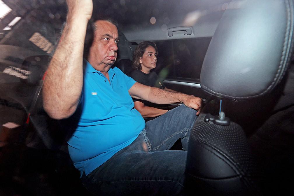 Jorge Picciani se entrega à PF (Foto: Wilton Junior/Eestadão Conteúdo)