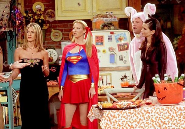 Halloween na série Friends (Foto: Reprodução)