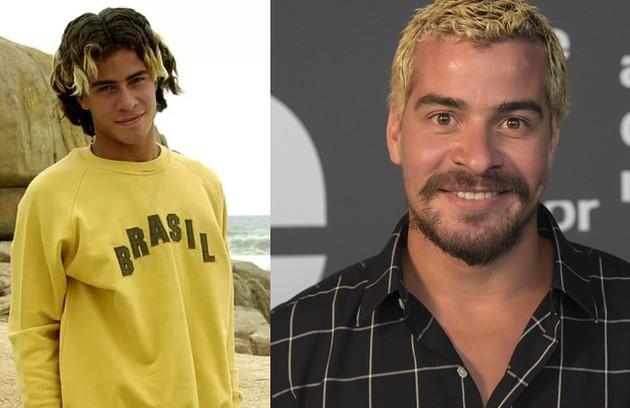 """Thiago Martins, atualmente no elenco de """"Amor de mãe"""", deu vida a Sal, engraxate que queria se tornar surfista (Foto: Globo)"""