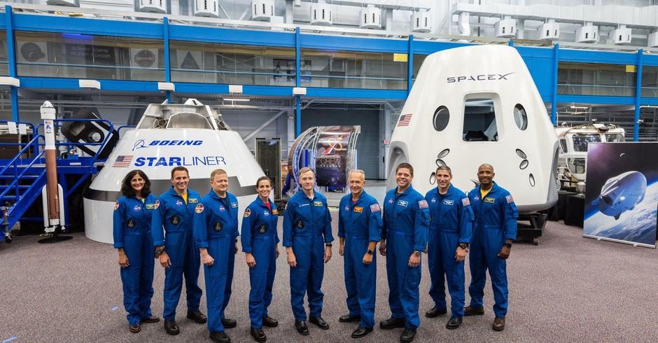 Tripulação comercial da NASA (Foto: Divulgação/NASA)