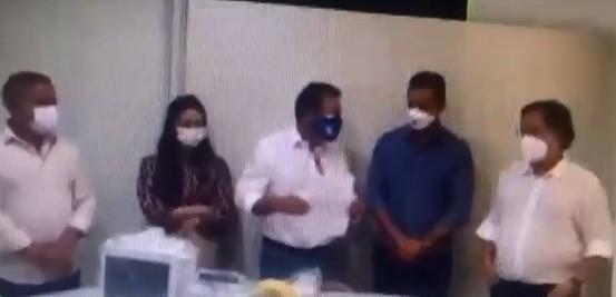 Secretário estadual agradece doação a hospital de Campo Mourão onde filha trabalha, e vídeo gera polêmica; empresa executa obra na Escarpa Devoniana