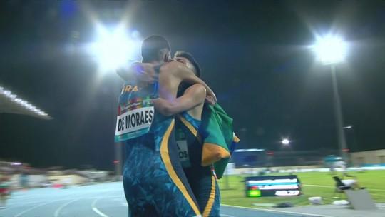 Petrúcio vence 400m no Mundial Paralímpico de Atletismo com dobradinha brasileira