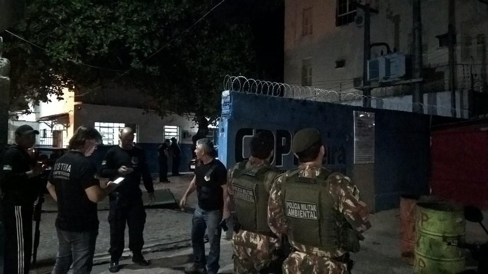 Agentes penitenciários reagiram e evitaram o resgate de presos. (Foto: Divulgação / PM)