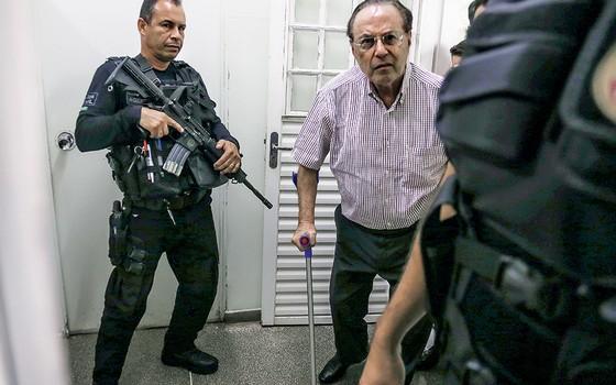 FOI MALUF QUEM FEZ O deputado do PP se entregou à Polícia Federal em dezembro. Hoje está na Papuda, em Brasília (Foto: Givaldo Barbosa/Agência O Globo )