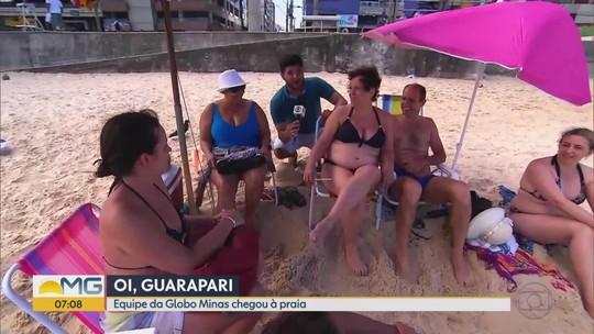 Série #partiupraia encontra mineiros em Guarapari