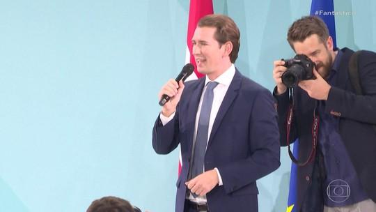 Conservadores vencem a eleição legislativa da Áustria