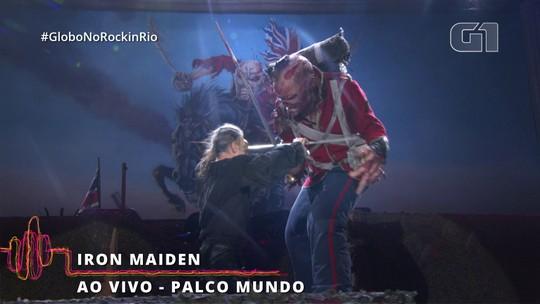 Iron Maiden ganha o Rock in Rio com seu 'show-videogame' como headliner antecipado