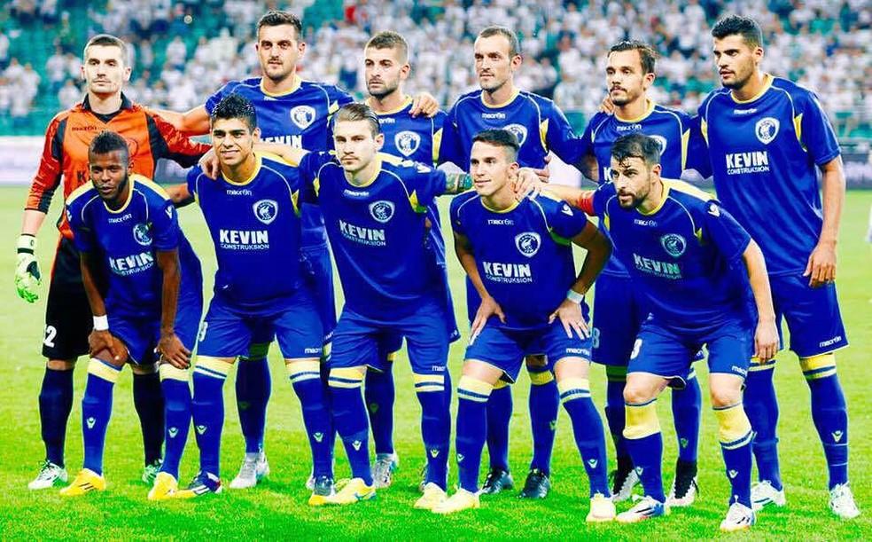 Felipe Moreira defendeu o FK Kukesi, da Albânia, em 2016 (Foto: Reprodução/Facebook)