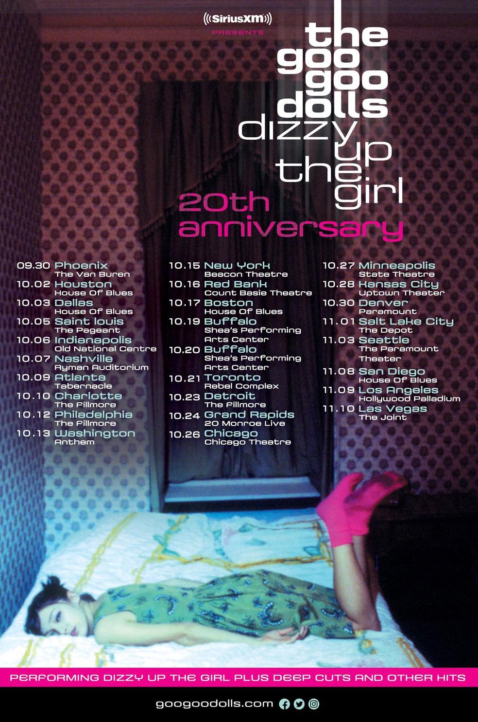 Resultado de imagem para Goo Goo Dolls anuncia turnê