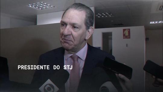 A Central GloboNews entrevista o presidente do STJ, João Otávio de Noronha