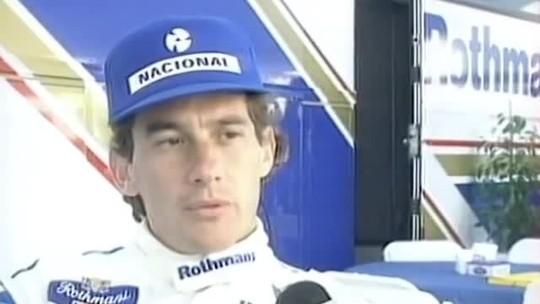 Ayrton Senna fez primeiro teste para valer com a Williams-Renault há exatos 25 anos no Estoril