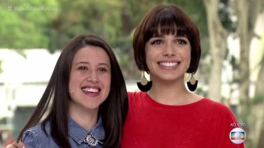 Sabrina Petraglia se emociona com convidada de 'Caso Verdade' no 'Vídeo Show'