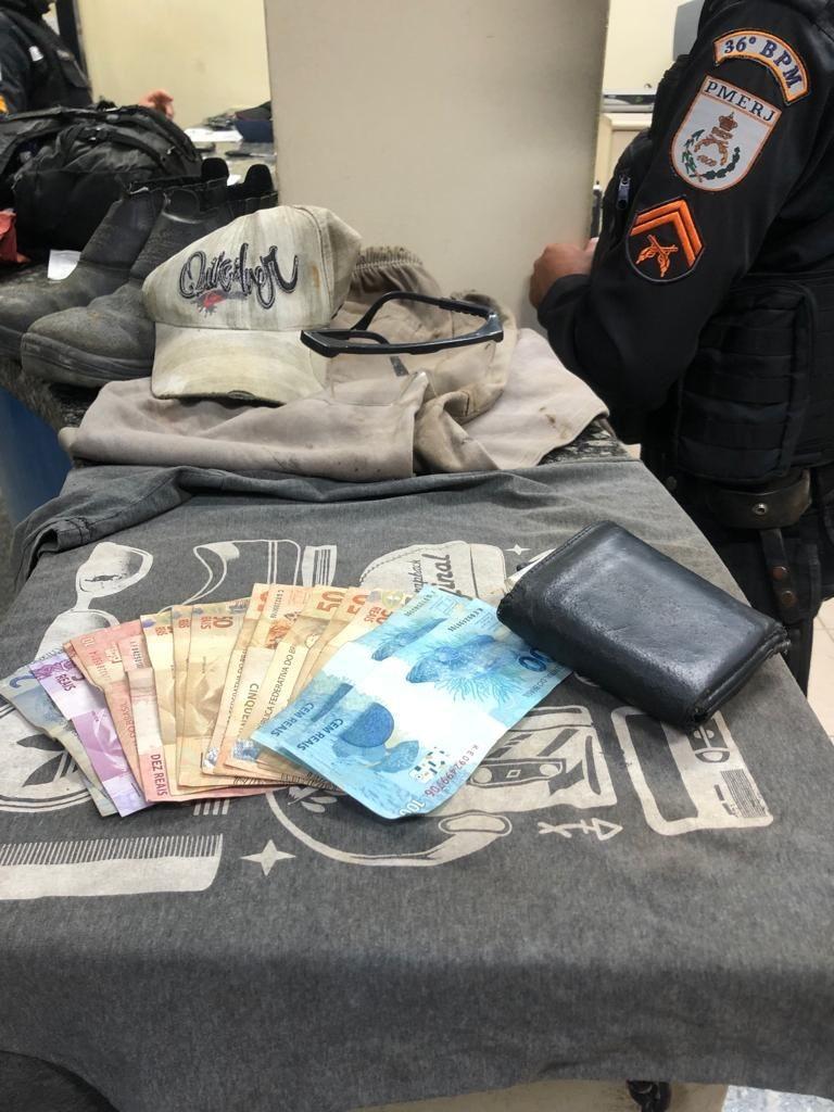 Homem é preso em flagrante após furto a casa em Aperibé, no RJ