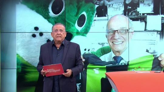 """Galvão se emociona e homenageia Ricardo Boechat: """"Vai fazer muita falta"""""""